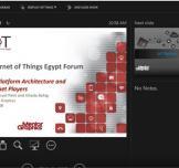 SECC Webinar  : منصات تصميم إنترنت الأشياء واللاعبين الرئيسيين
